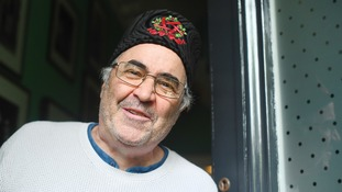 Danny Baker spoke to media outside his London home after he was fired by BBC Radio 5 Live.