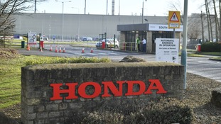 Honda plant in Swindon