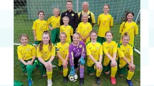 SB Frankfort Girls Under 12 Football Team