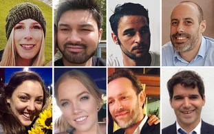 The victims of the atrocity at London Bridge