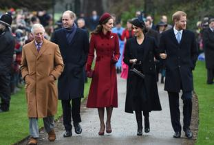 Their first Christmas as a married couple was spent with the Queen and other members of the royal family at Sandringham