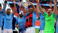 Kompany lifts trophy