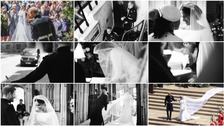 Harry and Meghan release unseen photos to mark wedding anniversary