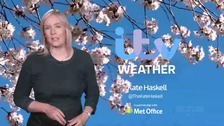 The latest weather in the ITV Meridian region