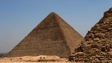 Tourist injured in bus blast near Egypt's Giza Pyramids