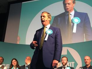 Nigel Farage's Brexit Party is expected to top the poll in the European elections