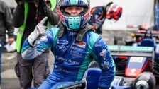 Billy Monger wins first race since losing legs in crash