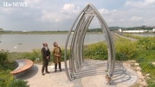Memorial unveiled to victims of Shoreham tragedy