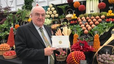 Welsh vegetable display wins gold in RHS Chelsea Flower Show