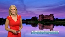 Wales weather: Mainly fine and dry