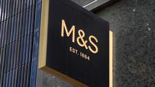 Retail giant Marks & Spencer has reported falling annual profits