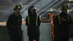 Workers at the plant face an uncertain future as the company is set to enter administration.