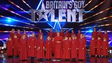 Truro choir impress Britain's Got Talent judges with Elton John classic