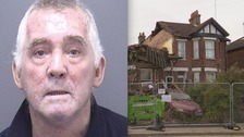 Man jailed for blowing up house he lived in with ex-wife