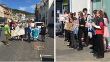 Schoolchildren strike again for action on climate change
