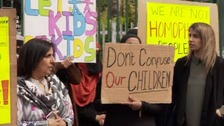 Protesters against school LGBT Lessons vow to continue action