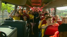 Amber Army on way to Wembley ahead of Newport County's bid for promotion