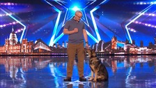 Finn appears on BGT
