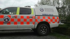 Woman with 'severe leg injury' rescued from near Henrhyd Falls