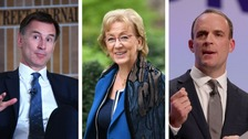Hunt, Leadsom and Raab enter Conservative leadership race