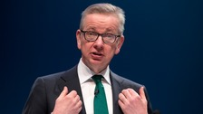 Michael Gove officially enters leadership race for Number 10