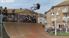 BMX stars fly high in Brighton