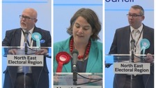 Brexit Party takes two of the three available North East MEP seats