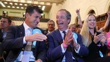 Tories and Labour suffer while Farage prepares for general election after EU contest win