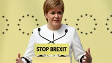 SNP's success in the European Election is an 'anti-Brexit' vote says Sturgeon.