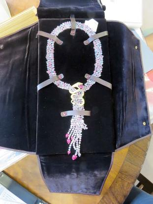 An item of jewellery seized by the NCA