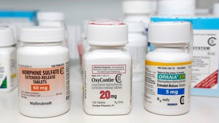 Almost 50,000 deaths were linked to the opioid crisis in the US in 2017.