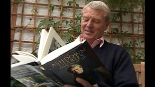 Lord Ashdown reading his book