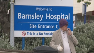 Smokers banned from lighting up in Barnsley Hospital's grounds