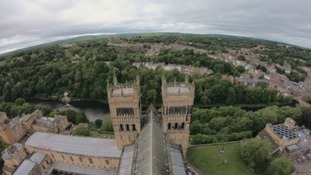 Durham Cathedral welcomes visitors back to the central tower for the first time in over three years