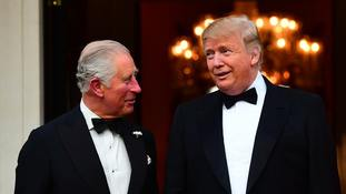 Donald Trump and Prince Charles