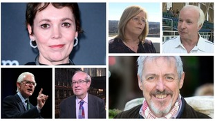 Olivia Colman and Griff Rhys Jones are among the dozens of people from the Anglia region honoured by the Queen.