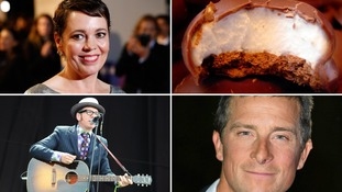 Queen's Birthday Honours: From Tunnocks teacakes to Oscar winner Olivia Colman and Bear Grylls