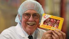 The man who invented the Tunnock's Teacake, Boyd Tunnock, has been knighted in the Queen's Birthday Honours List.