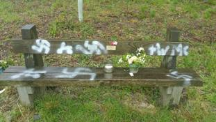 Lincolnshire Police said a number of areas had been vandalised with spray paint