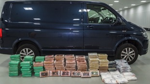 Police seized £20 million worth of cocaine on the M6 motorway