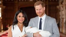 Prince Harry's first Father's Day with baby Archie