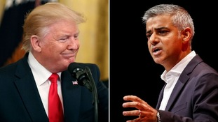 Sadiq Khan 'not wasting his time' by responding to Trump's 'national disgrace' Twitter criticism