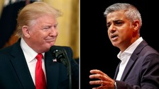 Donald Trump has again gone after London Mayor Sadiq Khan on Twitter.