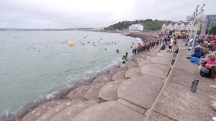 Another Jersey Triathlon win for Tanguy