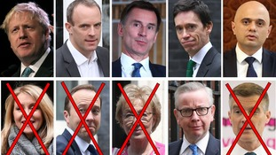 Of the 10 Tory MPs who entered the race to become the next PM, six remain.