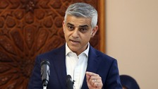 Sadiq Khan has said Donald Trump is now a 'poster boy for the far-right and racists'.
