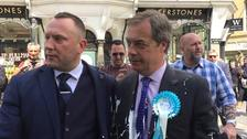Man in court charged with throwing milkshake at Farage