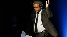 Platini denies wrongdoing after arrest in Qatar World Cup probe