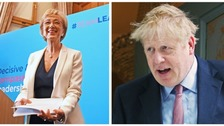 Andrea Leadsom becomes latest MP to back Boris Johnson in Tory leadership race