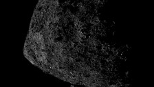 A close-up of Bennu shows detail not seen before.